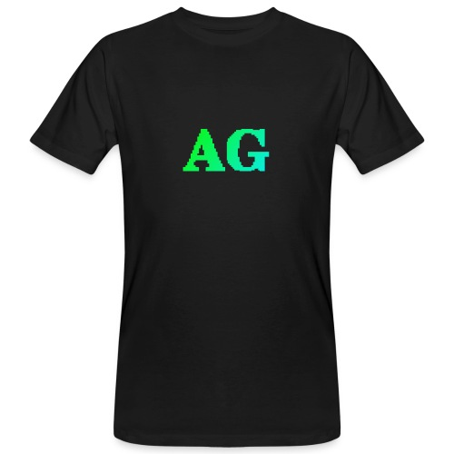 ATG Games logo - Miesten luonnonmukainen t-paita