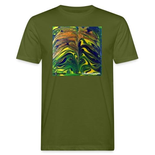 TIAN GREEN Mosaik DE029 - Lebensbaum - Männer Bio-T-Shirt