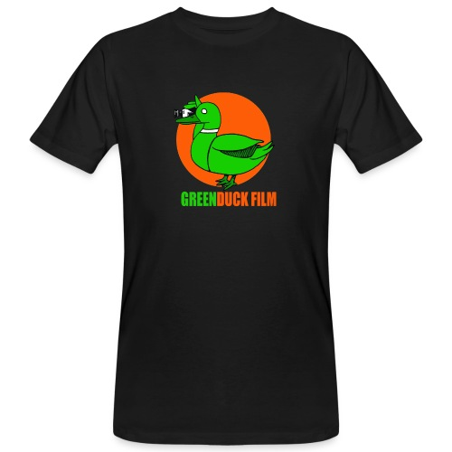 Greenduck Film Orange Sun Logo - Organic mænd