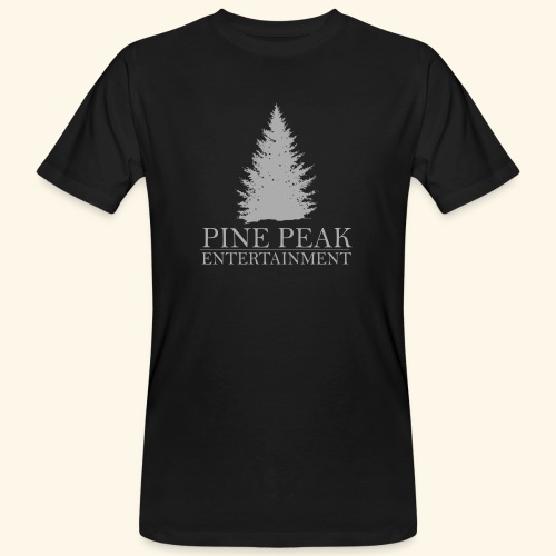 Pine Peak Entertainment Grey - Mannen Bio-T-shirt