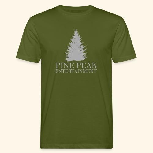 Pine Peak Entertainment Grey - Mannen Bio-T-shirt