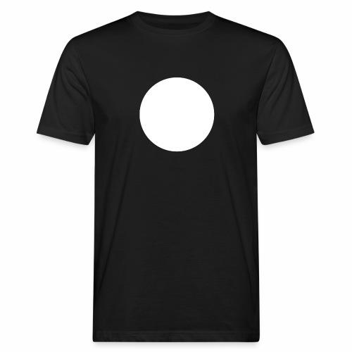 white circle - Ekologisk T-shirt herr