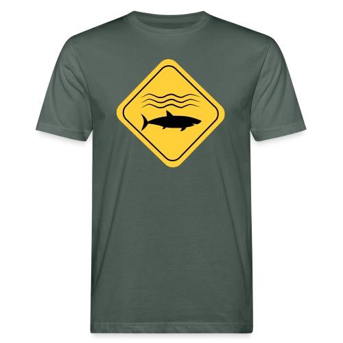 Danger Shark - Camiseta ecológica hombre