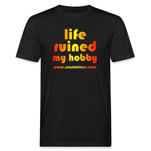 life ruined my hobby sunburst - Men's Organic T-Shirt