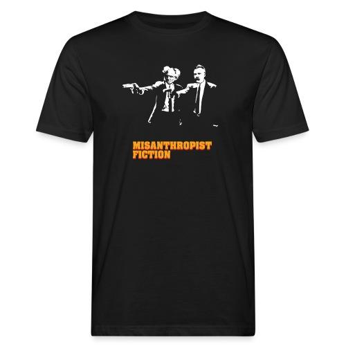 Misanthropist Fiction - Männer Bio-T-Shirt