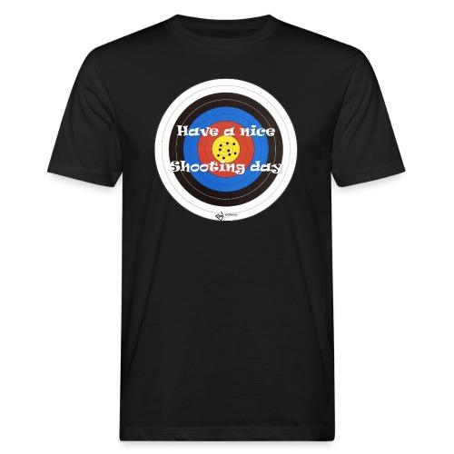 Shooting day - Männer Bio-T-Shirt