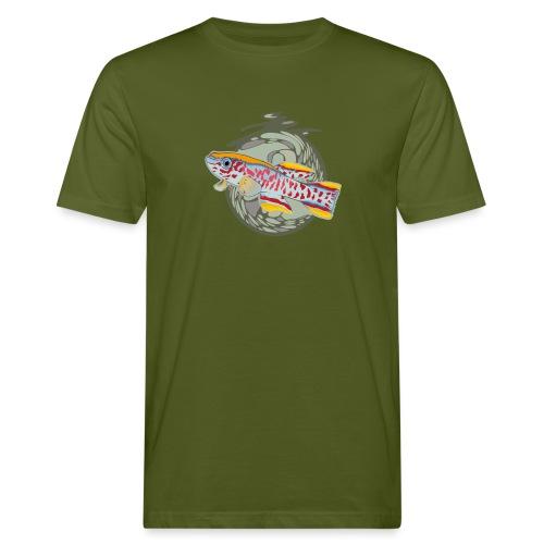 Space Fish Bluecontest - T-shirt bio Homme