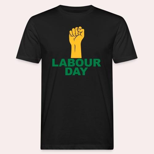Día del trabajo / Puño en alto - Camiseta ecológica hombre