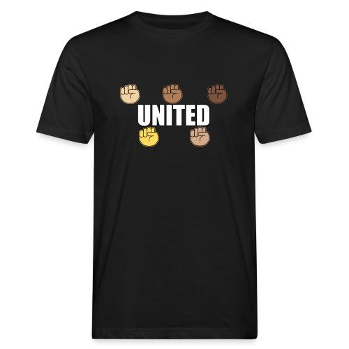 Gemeinsam gegen Rassismus - Männer Bio-T-Shirt