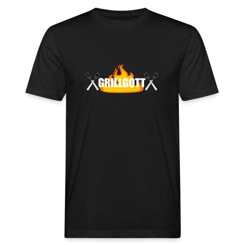 Grillgott Barbecue Experte - Männer Bio-T-Shirt