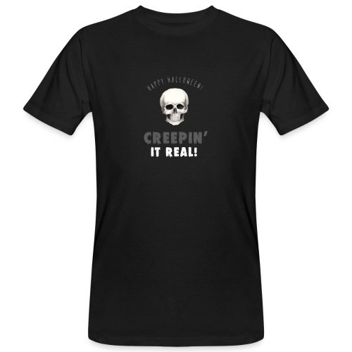 Happy Halloween - Männer Bio-T-Shirt