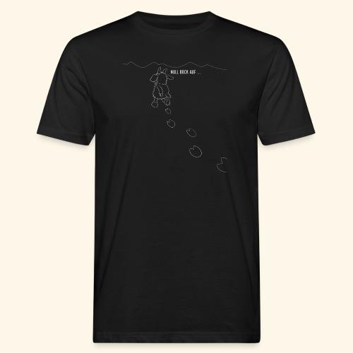 Schafbock: Null Bock auf - weiß - Männer Bio-T-Shirt
