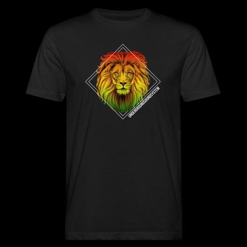 LION HEAD - UNDERGROUNDSOUNDSYSTEM - Männer Bio-T-Shirt