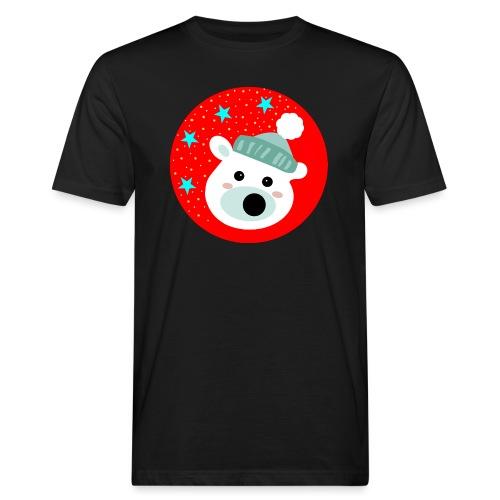 Winter bear - Men's Organic T-Shirt