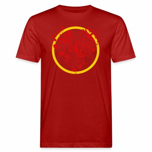 Herzemblem - Männer Bio-T-Shirt