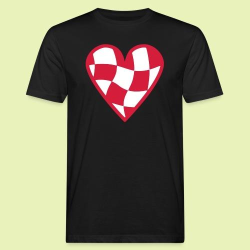 Brabant hart - Mannen Bio-T-shirt