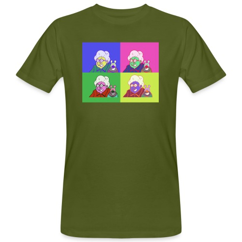 Polete facon warhol - T-shirt bio Homme