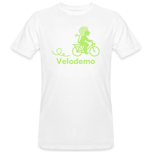 Züri-Leu mit Text - Männer Bio-T-Shirt