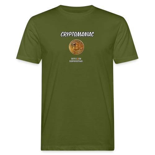 Cryptomaniac - T-shirt ecologica da uomo