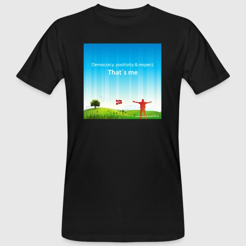 Rolling hills tshirt - Organic mænd