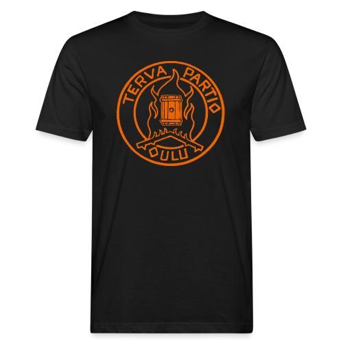 Tervapartio_oranssi - Miesten luonnonmukainen t-paita