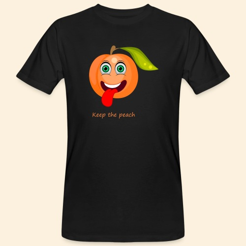 Whoua keep the peach - T-shirt bio Homme