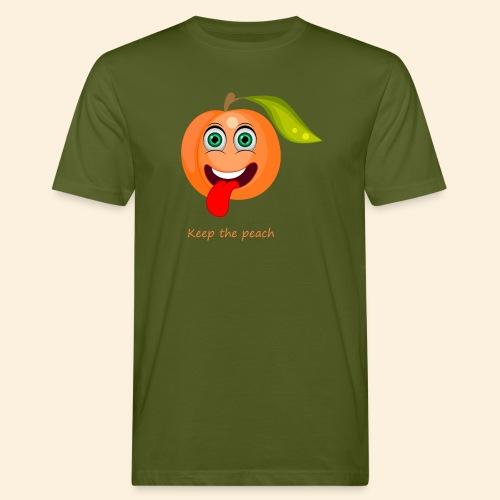 Whoua keep the peach - T-shirt bio Homme