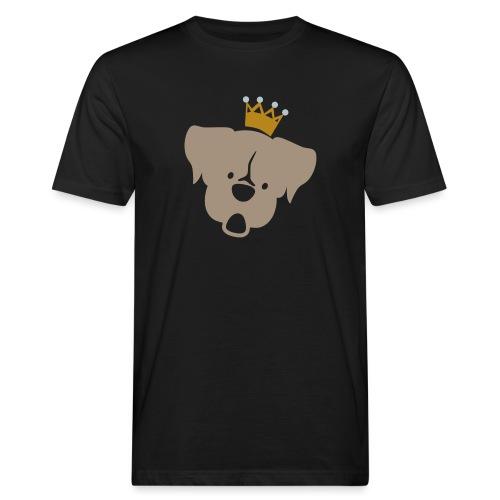 Prinz Poldi braun - Männer Bio-T-Shirt