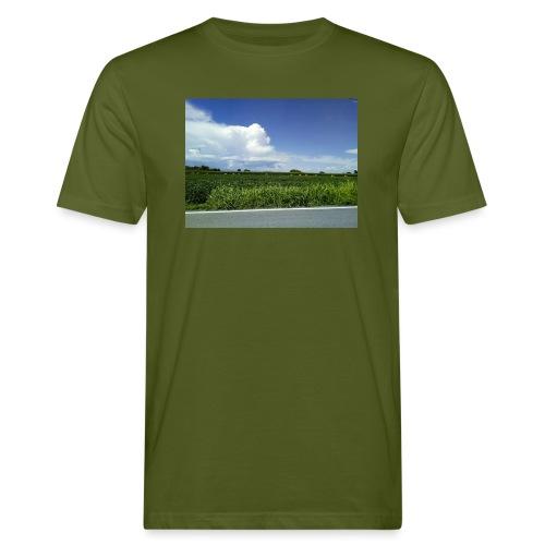 prato verde - T-shirt ecologica da uomo