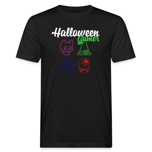 Halloween Gamer Zocken Gaming Controller Shirt - Männer Bio-T-Shirt