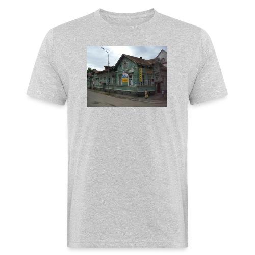 Aika on pysähtynyt Sortavalassa - Miesten luonnonmukainen t-paita