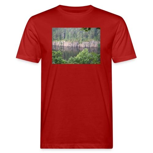 Laatokan maisemissa - Miesten luonnonmukainen t-paita