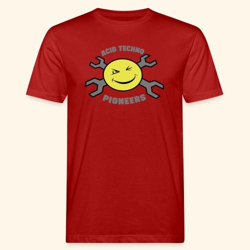 ACID TECHNO PIONEERS - SILVER EDITION - Men's Organic T-Shirt