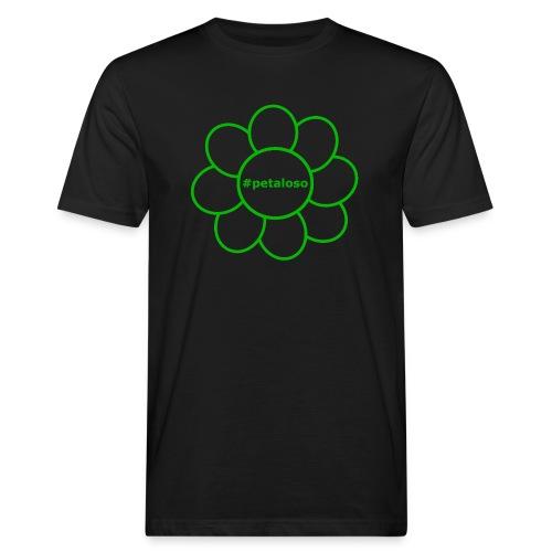 #petaloso - T-shirt ecologica da uomo