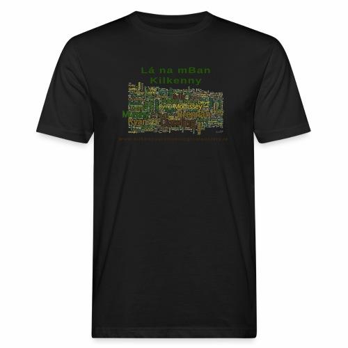 Lá na mban Kilkenny Wordle - Men's Organic T-Shirt