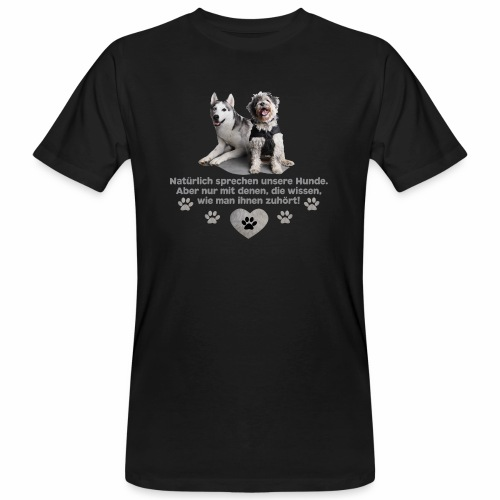 Wunschdesign viva world - Männer Bio-T-Shirt