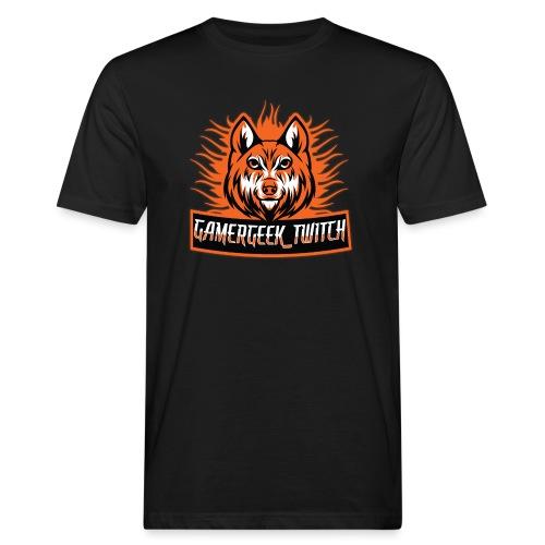 GamerGeek Logo XXXL - Männer Bio-T-Shirt