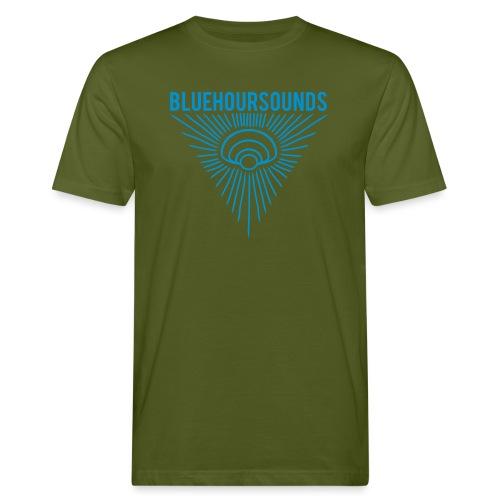 New Blue Hour Sounds logo triangle - Men's Organic T-Shirt