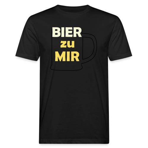 Bier zu mir - Männer Bio-T-Shirt