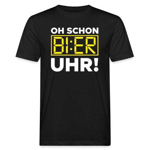 OH SCHON BI:ER UHR - Männer Bio-T-Shirt