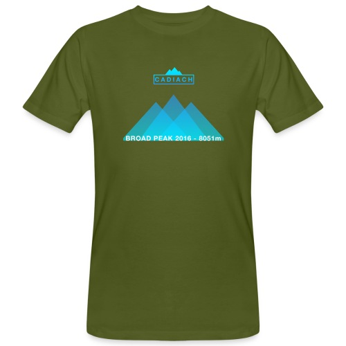 Cadiach Broad Peak 2016 - Mujer - Camiseta ecológica hombre