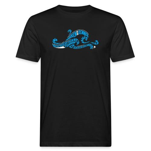 EZS T shirt 2013 Front - Mannen Bio-T-shirt