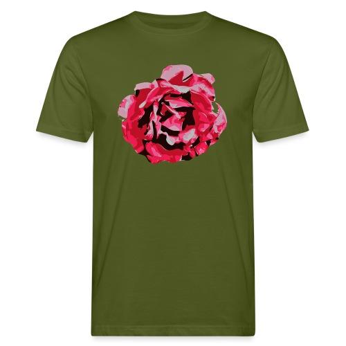 rose - Männer Bio-T-Shirt
