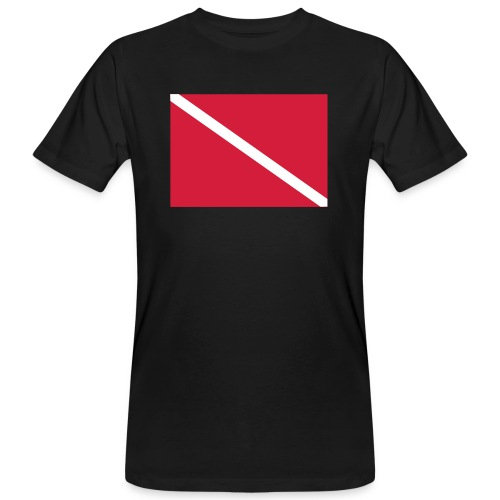 Diver Flag - Men's Organic T-Shirt