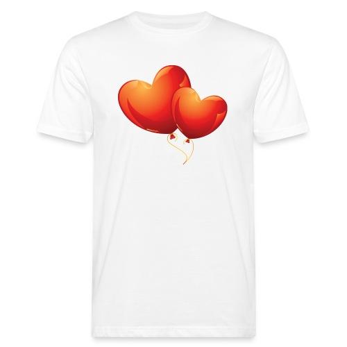 Malliot coeur - T-shirt bio Homme