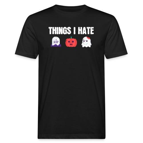 Fuck Halloween Gegen Nein Anti Shirt - Männer Bio-T-Shirt