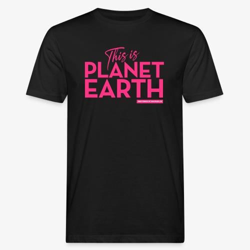 Planet Earth - Ekologisk T-shirt herr