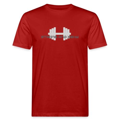 sasdumbell3 png - Mannen Bio-T-shirt