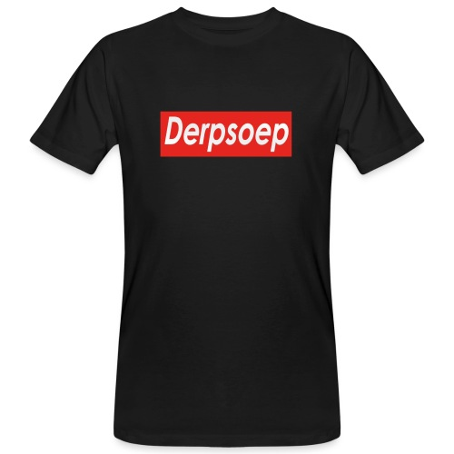 Derpsoep Sup-reme parodie - Mannen Bio-T-shirt