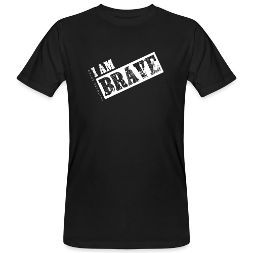 I AM BRAVE - Men's Organic T-Shirt